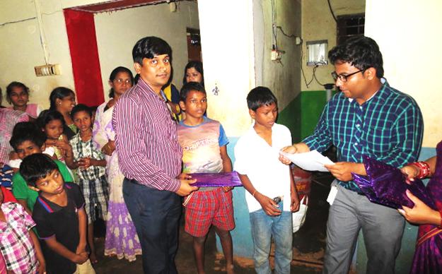 Philanthropic Activities By NTSPL
