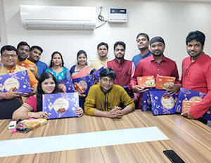 NTSPL Diwali Celebrations