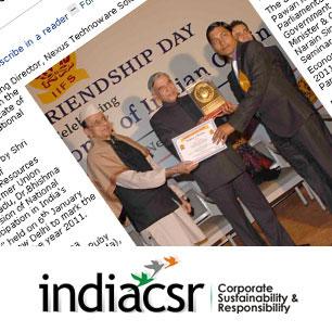 Bharat Gourav Award 2011
