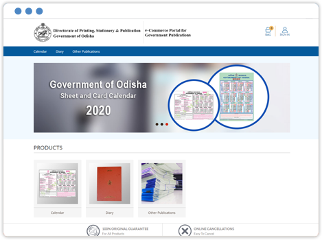 e-Commerce Portal for Government Publications