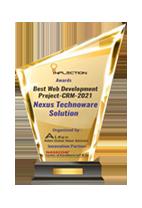 Best Web Development Project – CRM – 2021